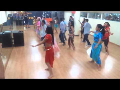 Johana Zambrano coreografia Hindu en Atlantic Gym (Ishq Kamina)