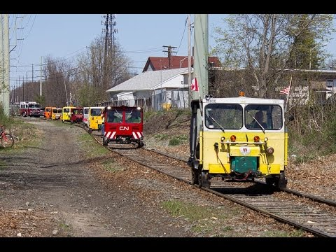Speeders on the Mass Coastal Railroad