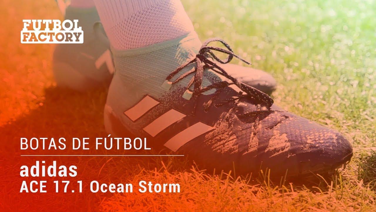 1d4d69320ef6 Fútbol Factory - Test: adidas ACE 17.1 AG Ocean Storm - YouTube