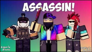 HOW TO WIN IN ASSASIN AND BEST HIDING SPOTS - Roblox!