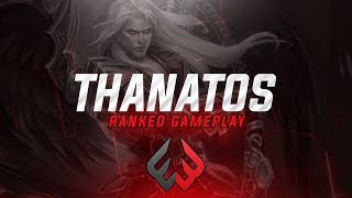 Thanatos: MID THROWS THE GAME OFF ONE ULT! - Smite - Weak3n