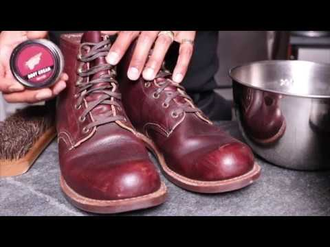 Conditioning the Red Wing 3340