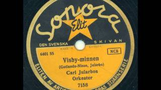 Carl Jularbos orkester - Visby-minnen