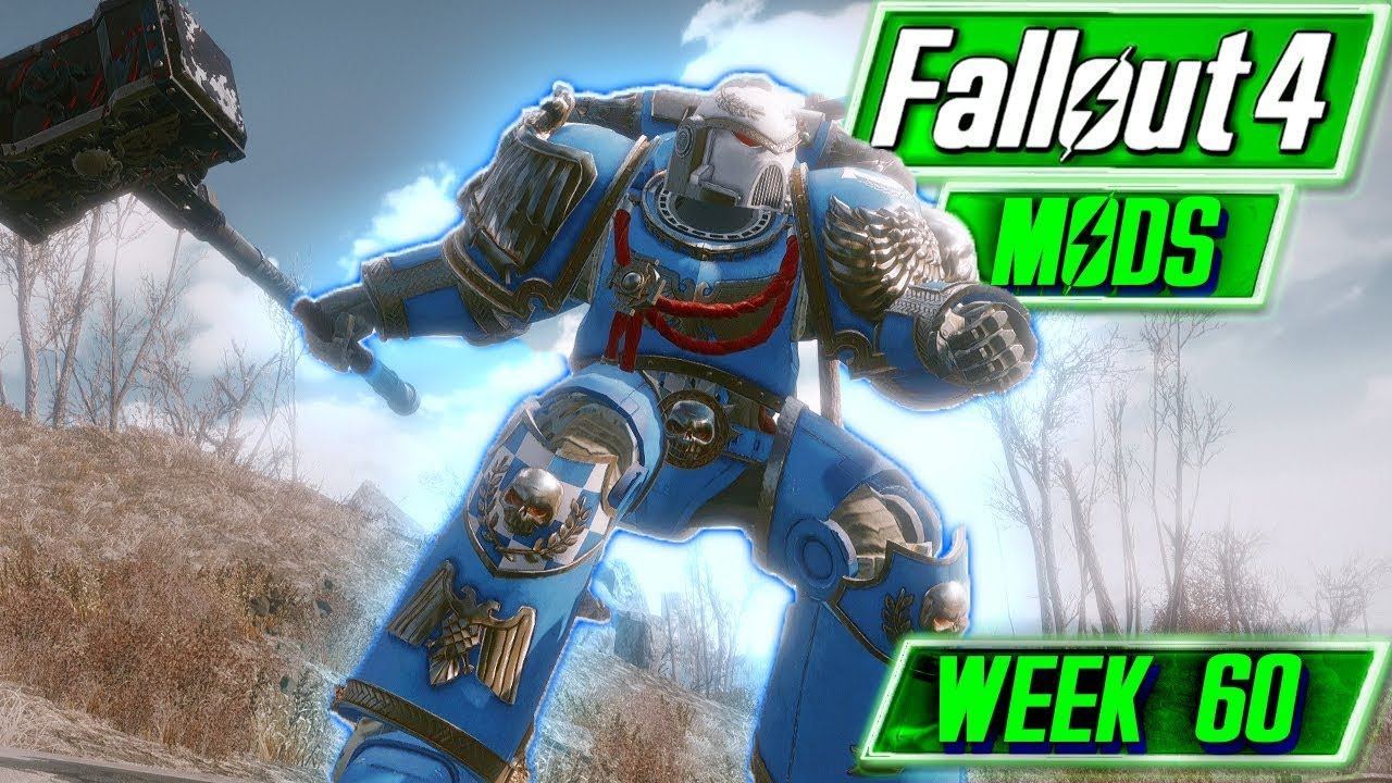 RELIC SPACE MARINE AND SIM CITY - Fallout 4 Mods - Week 60 (XBOX & PC)