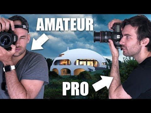 Amateur Vs Pro Architecture Photographer Shoot The