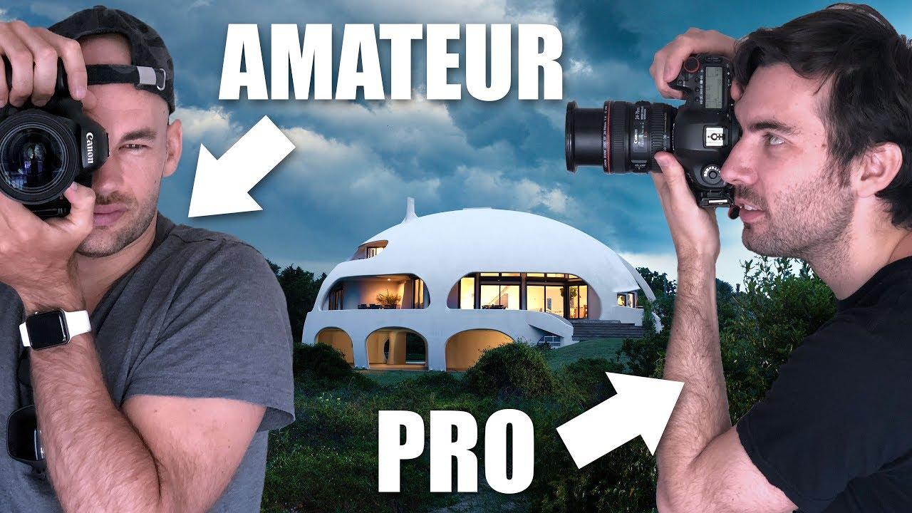 Amateur Vs Pro Architecture Photographer Shoot The Dome House