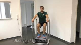 SiWAVE MULTI PLUS Vibrationsplatte von Stewafit für die Stärkung der Beine,  Schwingungsgerät
