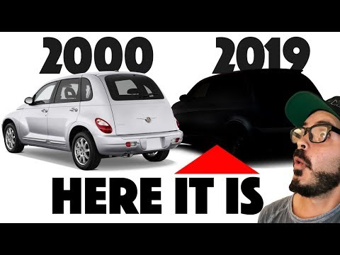 Chrysler PT Cruiser Re-design - What If It Was Made TODAY???