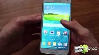 Test du Samsung Galaxy S5 - par Phonandroid.com