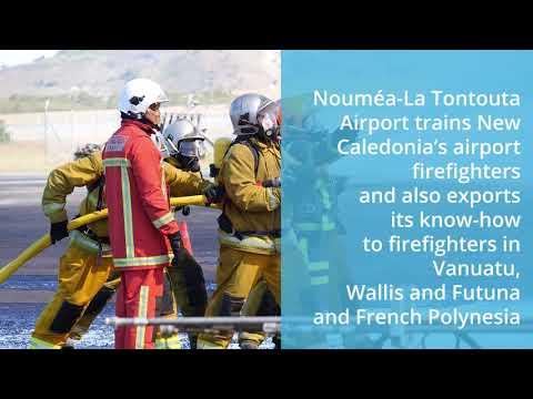 Airport firefighting training - CCI 2i New Caledonia