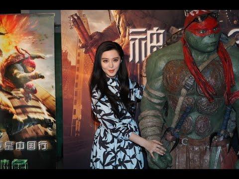 Ninja Turtles come to beijing, Fan Bingbing attends premiere