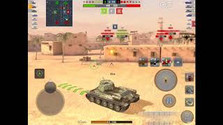 WoT Blitz Game Play - T-34-85 Rudy