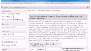 Wie eine MySQL-Datenbank erstellen, in der H-Sphäre