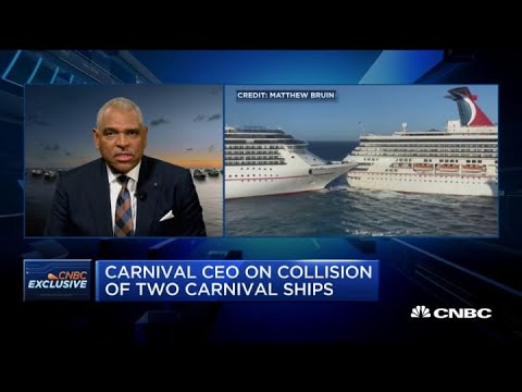 Carnival CEO On Cruise Ship Collision, Earnings