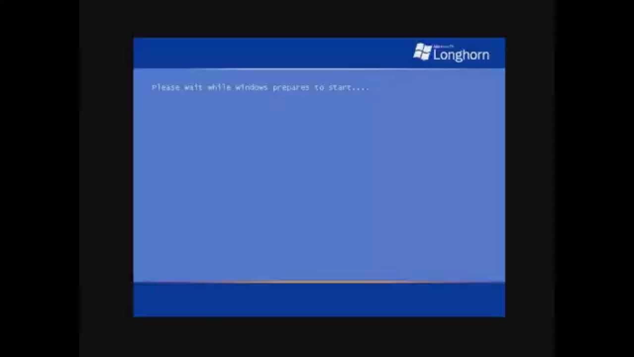 Technology Management Image: Installing Windows Longhorn Build 4015