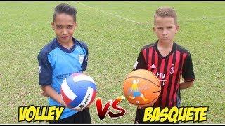 ALADDIN MITOU e BOLIVIA FEZ GOL DE PLACA (Bola de Voley vs Bola de Basquete)