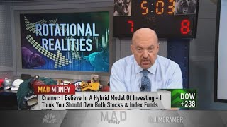 Jim Cramer reacts to Warren Buffett's concerns about individual stock picking