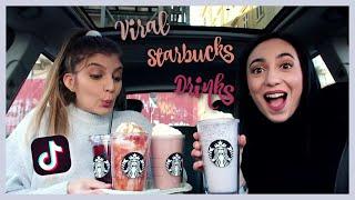 Δοκιμάζουμε VIRAL TikTok ροφήματα του Starbucks   katerinaop22