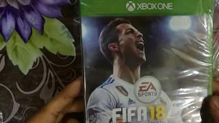 Fifa 18 Xbox One Unboxing Urdu/Hindi