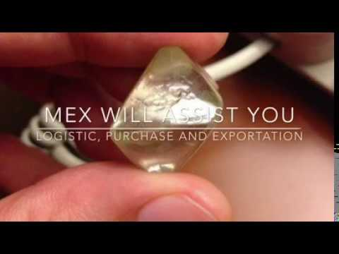 MEX Sarl Commercial Video Diamond Exportation Bureau Africa