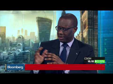 Credit Suisse CEO on Restructuring Growth Bitcoin