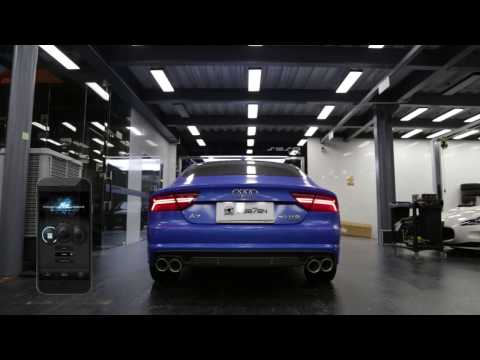 AUDI A7 x Fi Exhaust - Sound Check ! Valve Open & Closed !