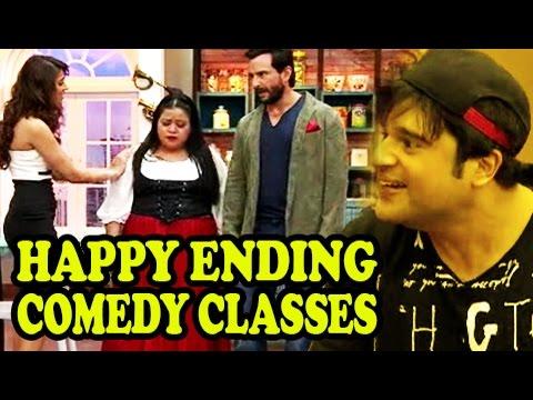 Comedy Classes - Saif Ali Khan & Ileana D'Cruze's Happy Ending At Comedy Classes - Movie Promotion