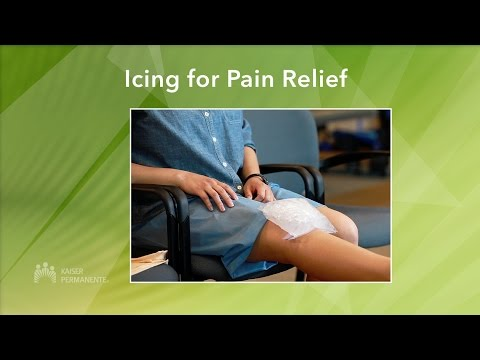 Managing Your Knee Pain Icing for Pain Relief