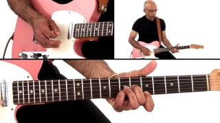 �������� ���� Funk Guitar Lesson #2 Funky Chord Voicings - Carl Burnett ������
