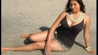 Hot South Indian Actress Beach Bikini Show