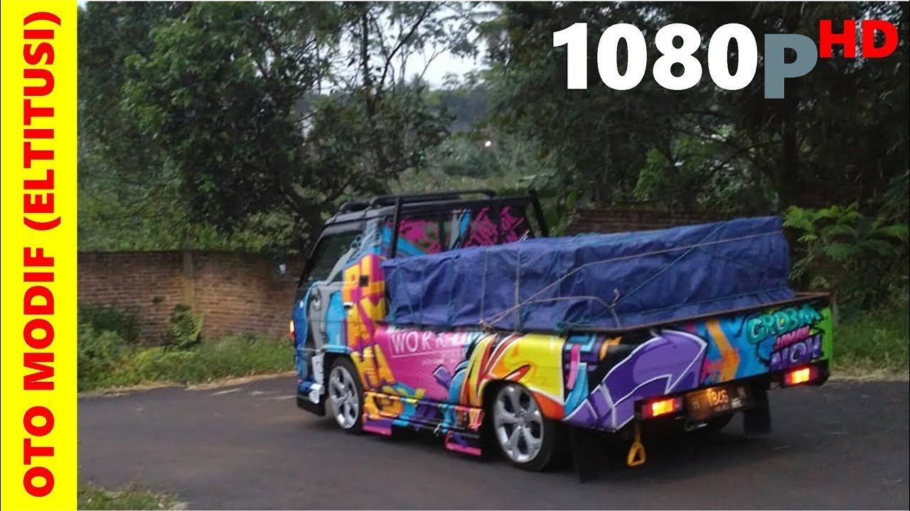 Modifikasi Mobil Pick Up L300 Yudi Bos Telor Kendal ...