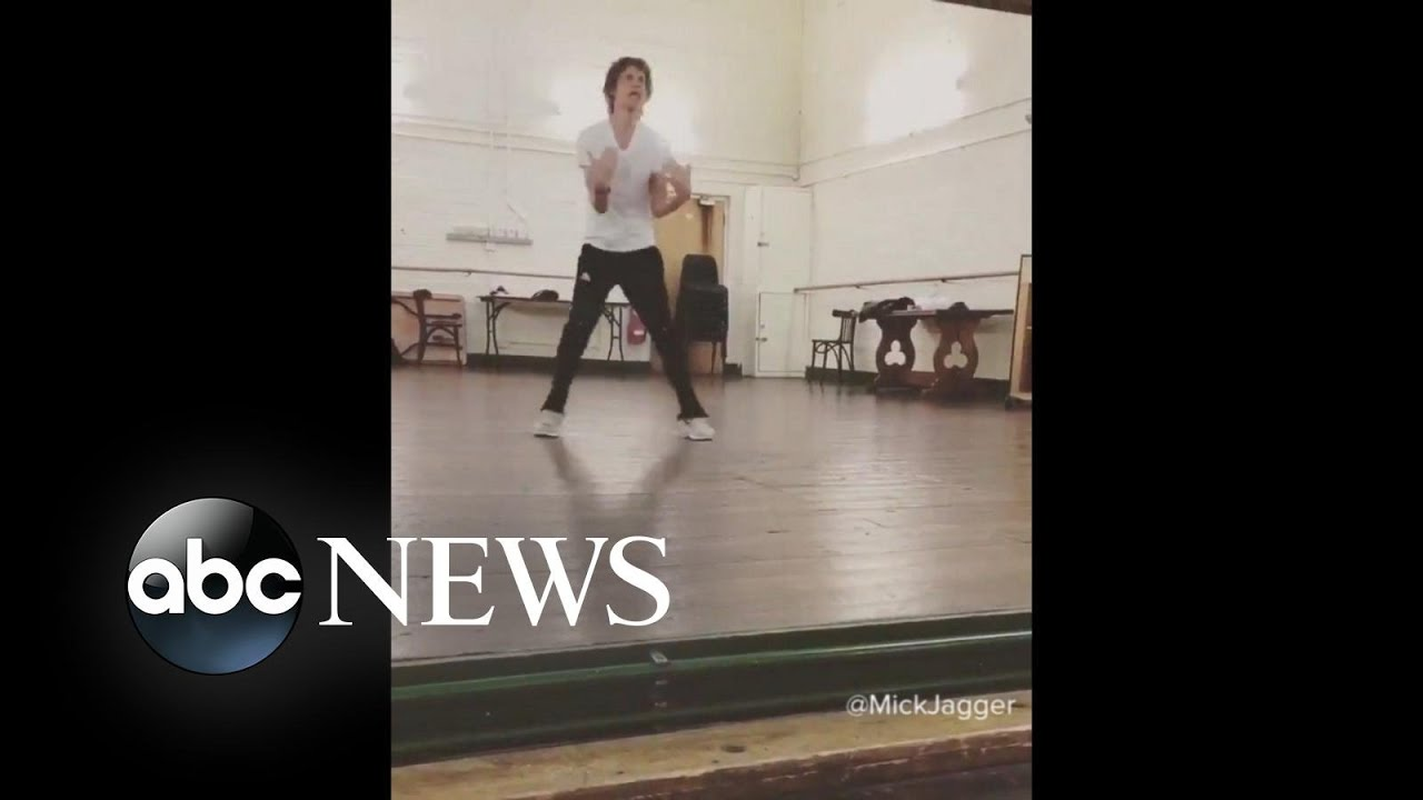 Watch Mick Jagger's Post-Heart Surgery Dance Moves