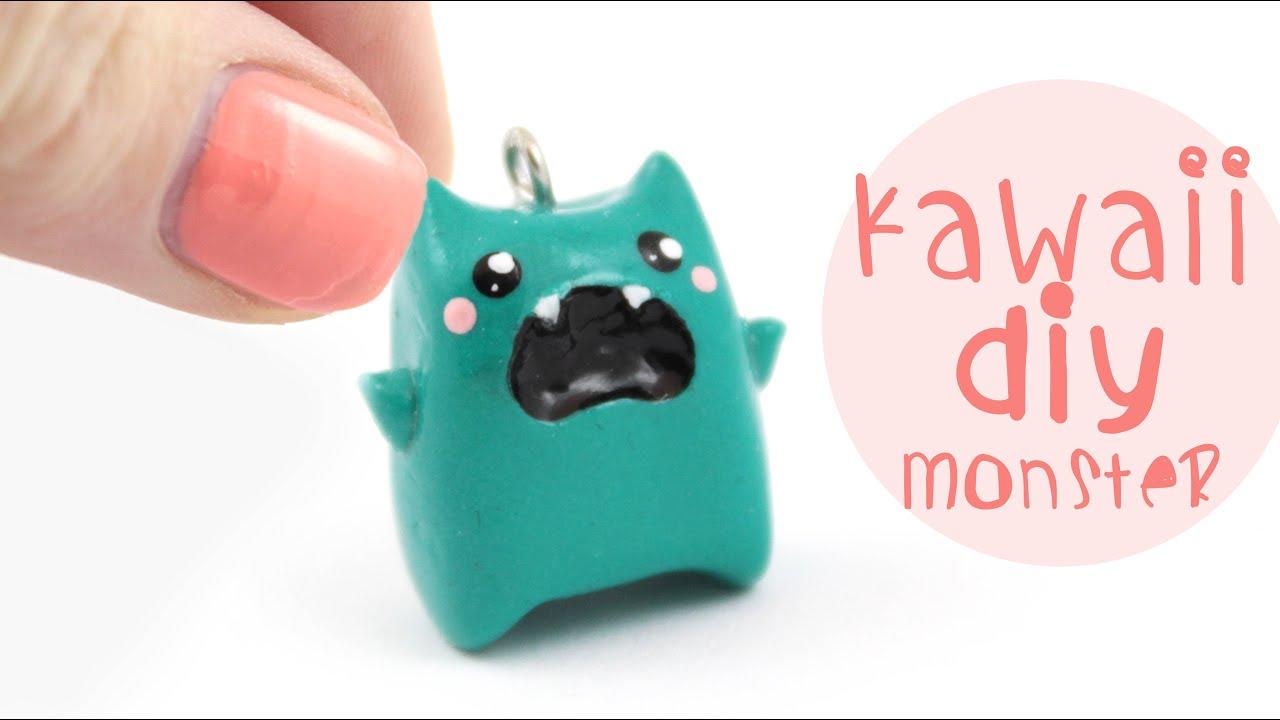 Cute Clay Monster Kawaii Friday Youtube