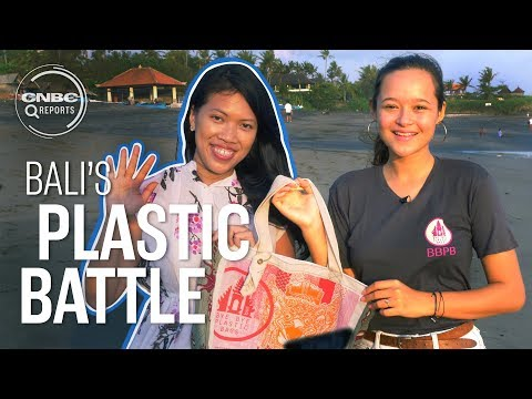 This is how Bali is fighting plastic pollution | CNBC Reports