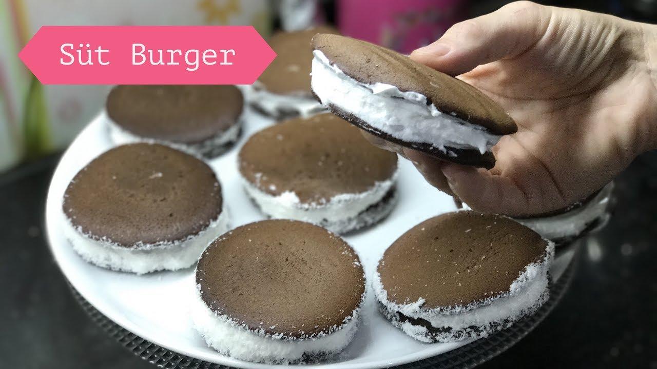 Ev Yapımı Süt Burger Videosu
