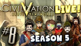 Civ 5 Live Part 8 - The Long Game