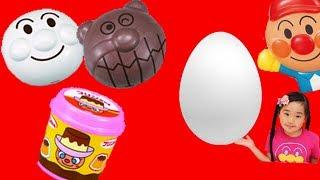 アンパンマン コンビニたまご アンパンマンおもちゃ anpanman  surprise  egg