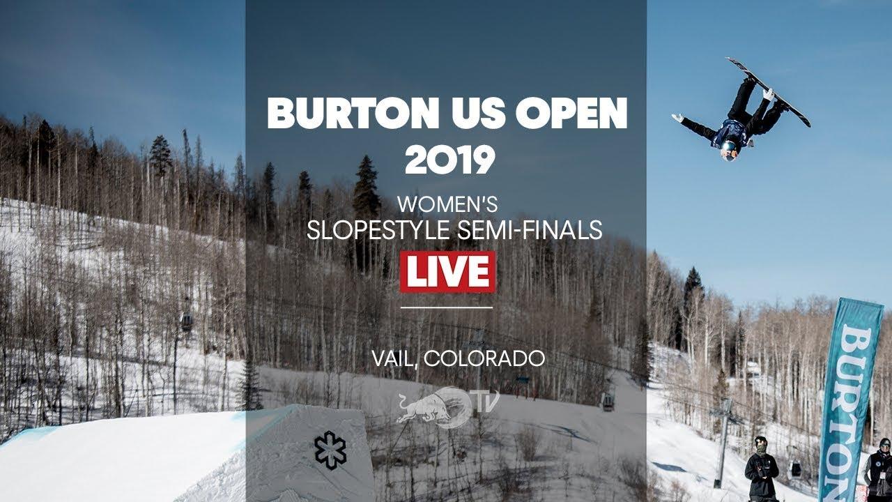 FULL SHOW - Burton US Open Women's Slopestyle Semi-Finals