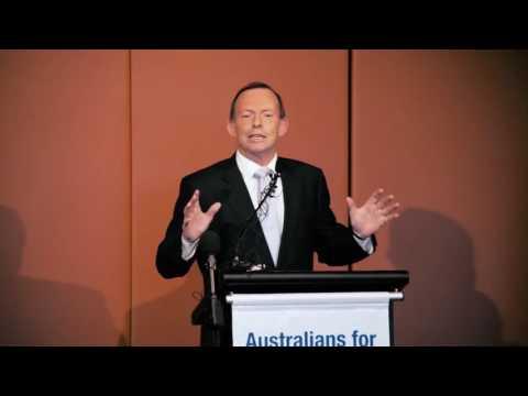 Tony Abbott's solemn pledge to Australia