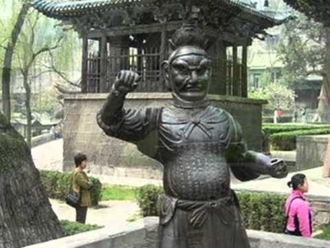 CHINE IV - Province Shanxi - Taiyuan - Temple Jinci