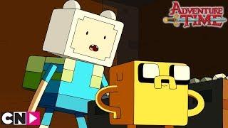 Minecraft ou Adventure Time ?   | Adventure Time | Cartoon Network
