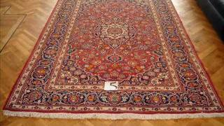 Collection of Nain and Kashan Persian rugs for sale
