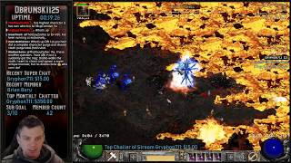 Diablo 2 - Mastering the Hammerdin - MF'ing the River of Flame !!  01/28/2019