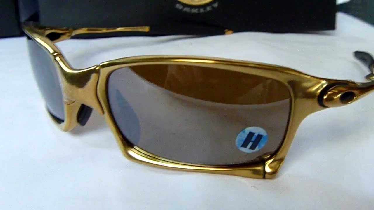 ce32b210aa Oakley Limited Edition X Squared 24k Gold with Titanium Polarized ...