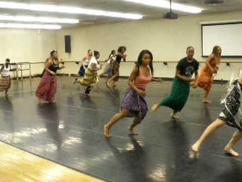 Magi's African Dance Class