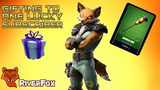 Gifting the *NEW* FENNIX Fox Skin - Fortnite Battle Royale (BR)