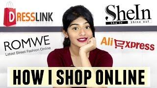 How I shop on International Website | Romwe, SheIn, Dresslink, Aliexpress