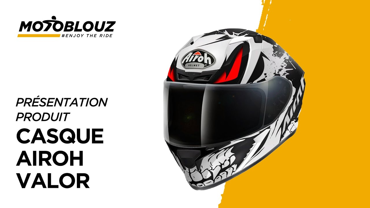 Casque Airoh Valor En Vidéo Motoblouz Simple Et Efficace Youtube