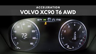 2019 Volvo XC90 T6 AWD | Acceleration
