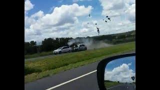 Acidente incrível BR 020 moto na contra mão em alta velocidade